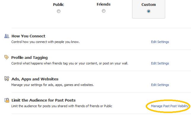 facebookプライバシー設定 投稿設定:ESETセキュリティブログ