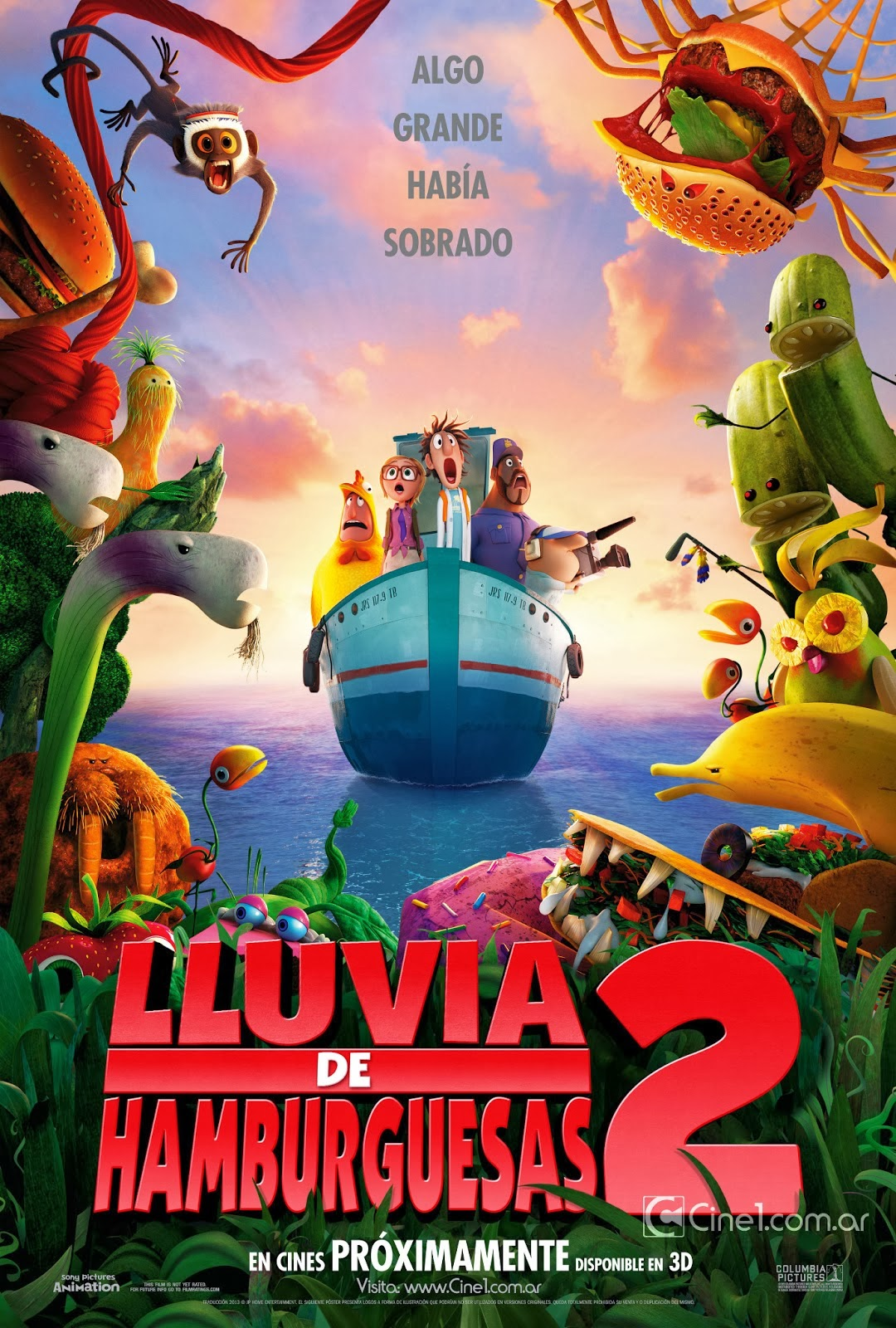 Lluvia de Hamburguesas 2 (2013) [Latino]