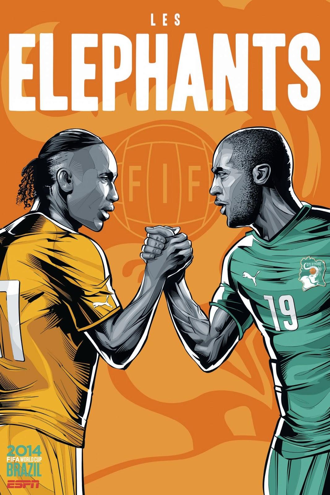Ivory-Coast Team FIFA 2014