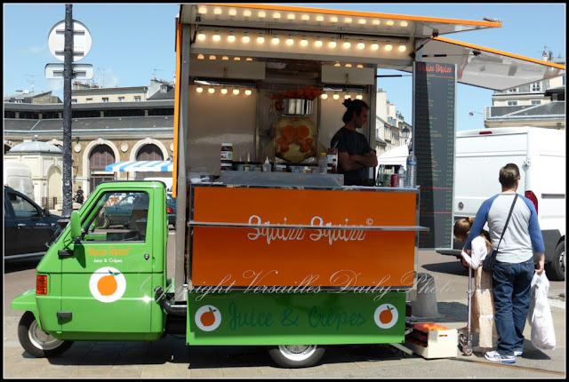 Squizz Squizz food truck Versailles