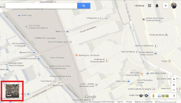 Miniatura Earth in Google Maps