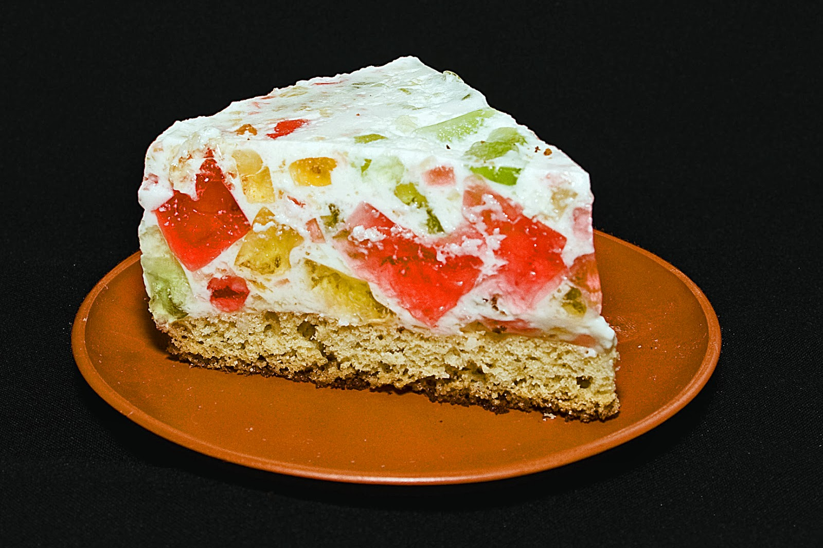 Как сделать торт битое стекло