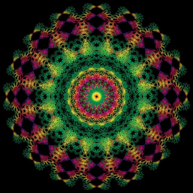 Mandalas, Fractales, Patterns, Efectos Visuales, Efectos Opticos  imagenes efecto visual - efecto optico - efecto visual - efectos opticos - efectos visuales