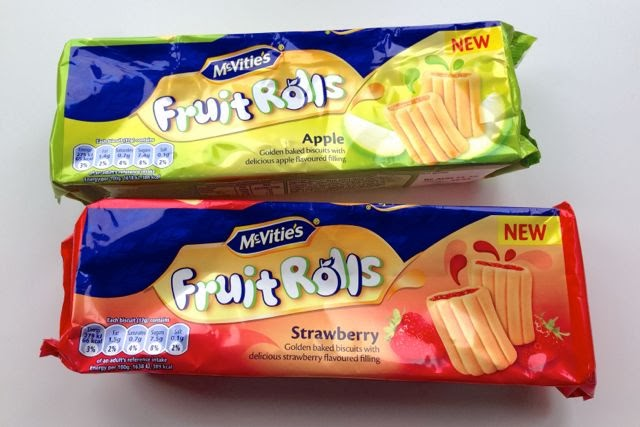McVities - Fruit Rolls (biscuits) - Strawberry/Apple