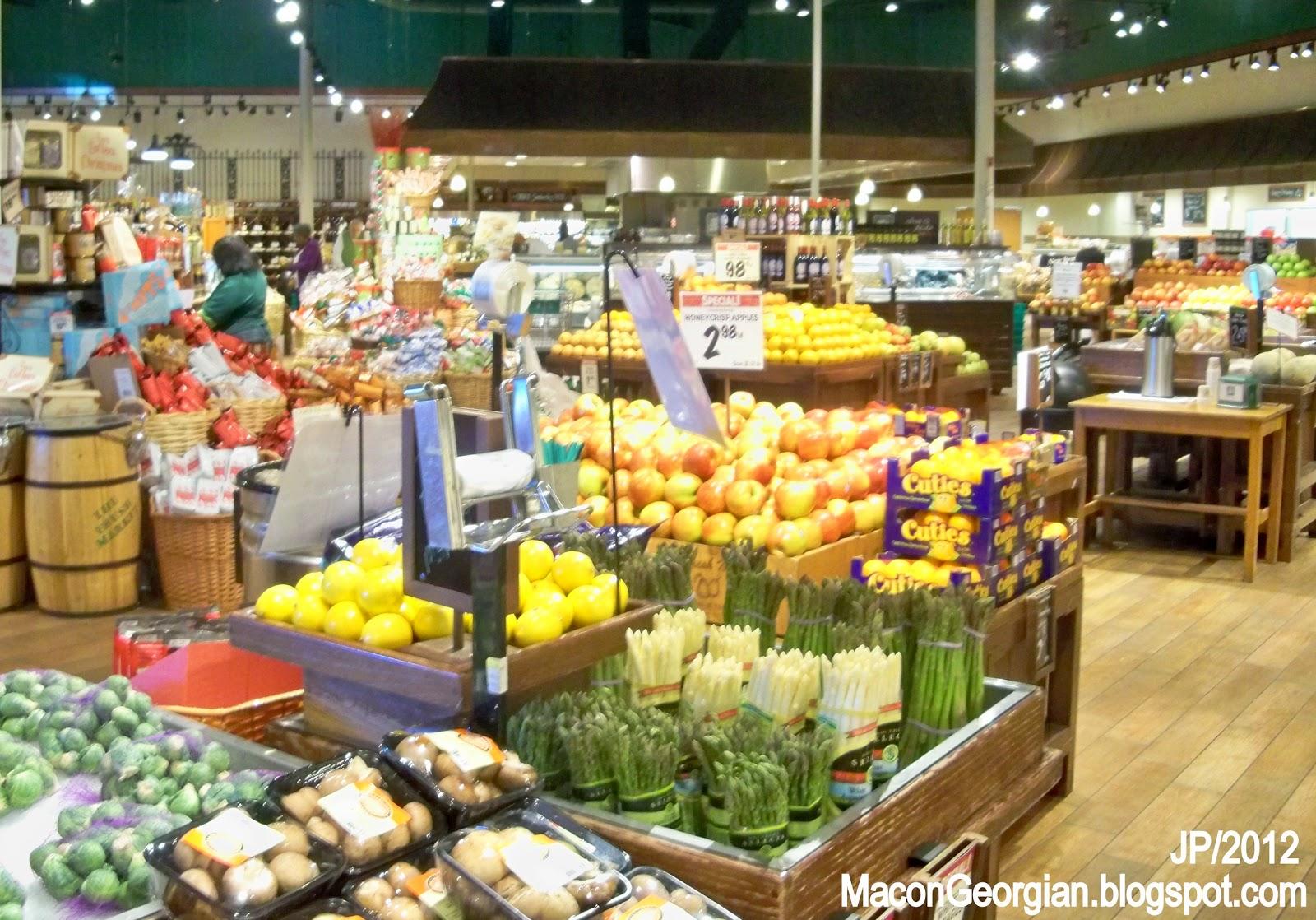 Grocery perimeter