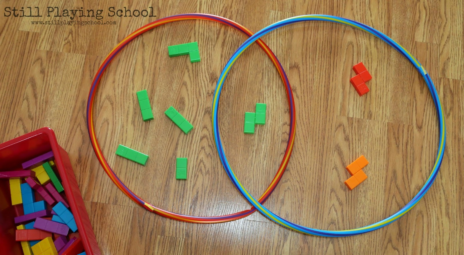 Hula hoop venn diagram sorting still playing school ccuart Images