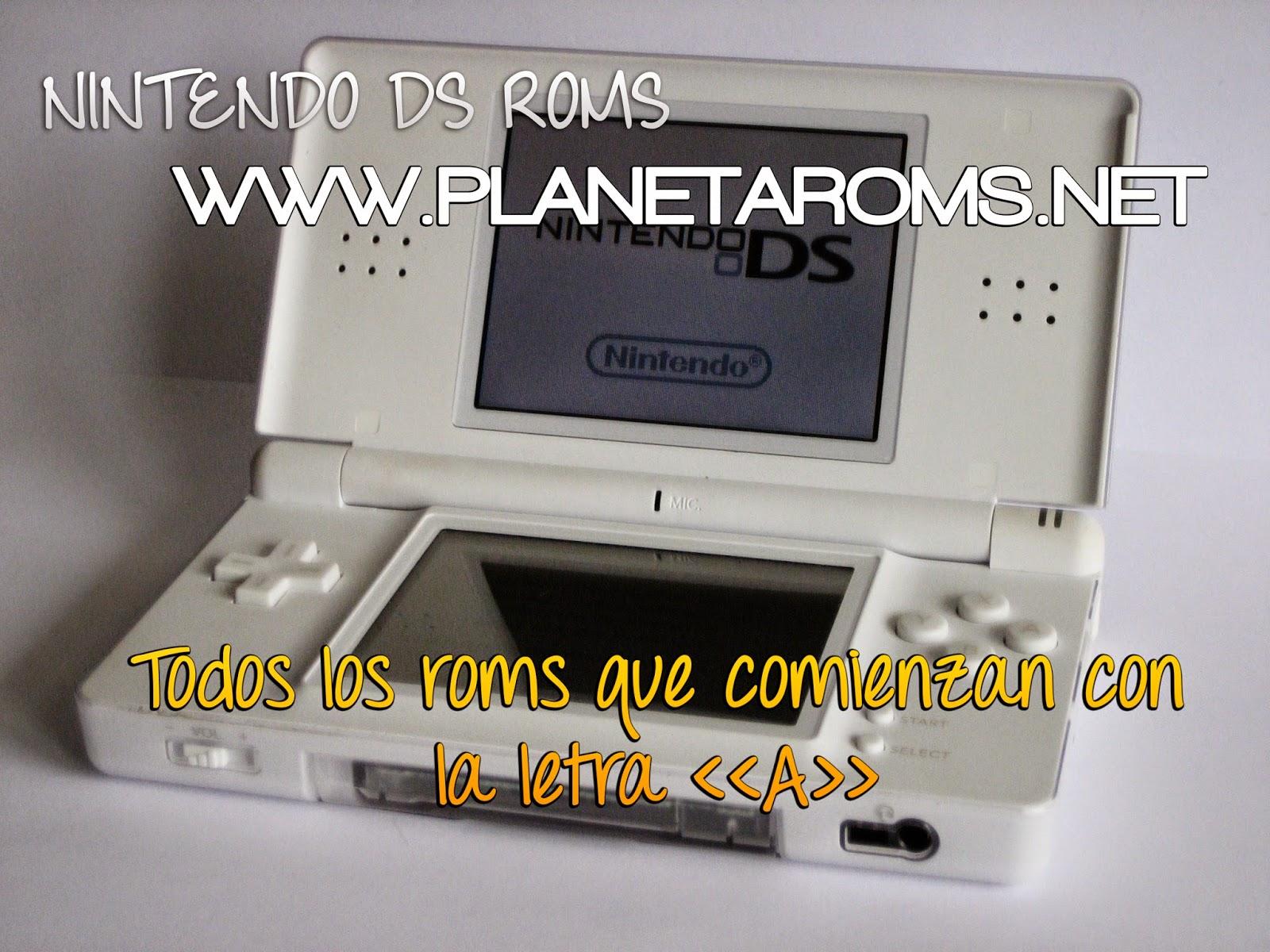 Juegos de Nintendo DS que empiezan con A