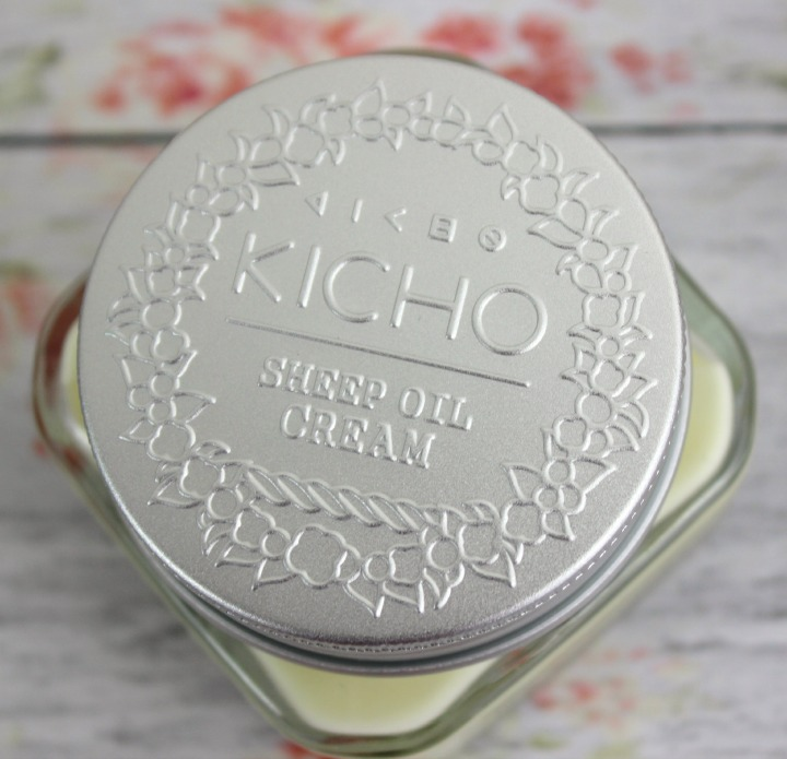 Kicho Sheep Oil Cream jar lid