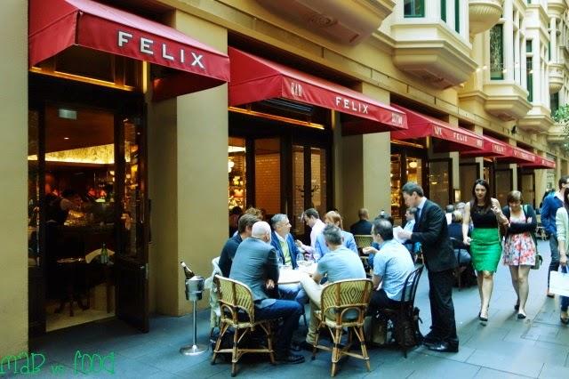 Mab vs food sydney food blog felix bistro and bar 6 for Food bar sydney