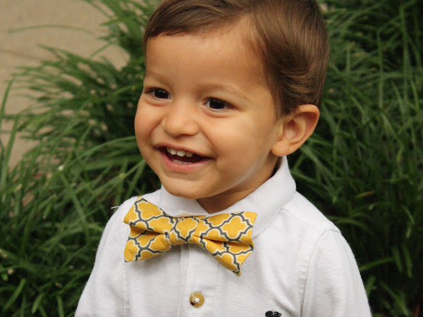 Review + Giveaway: Little Boy Bow Tie (CLOSED)