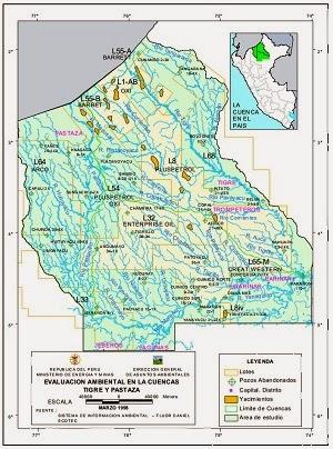 cuenca rio tigre pastaza