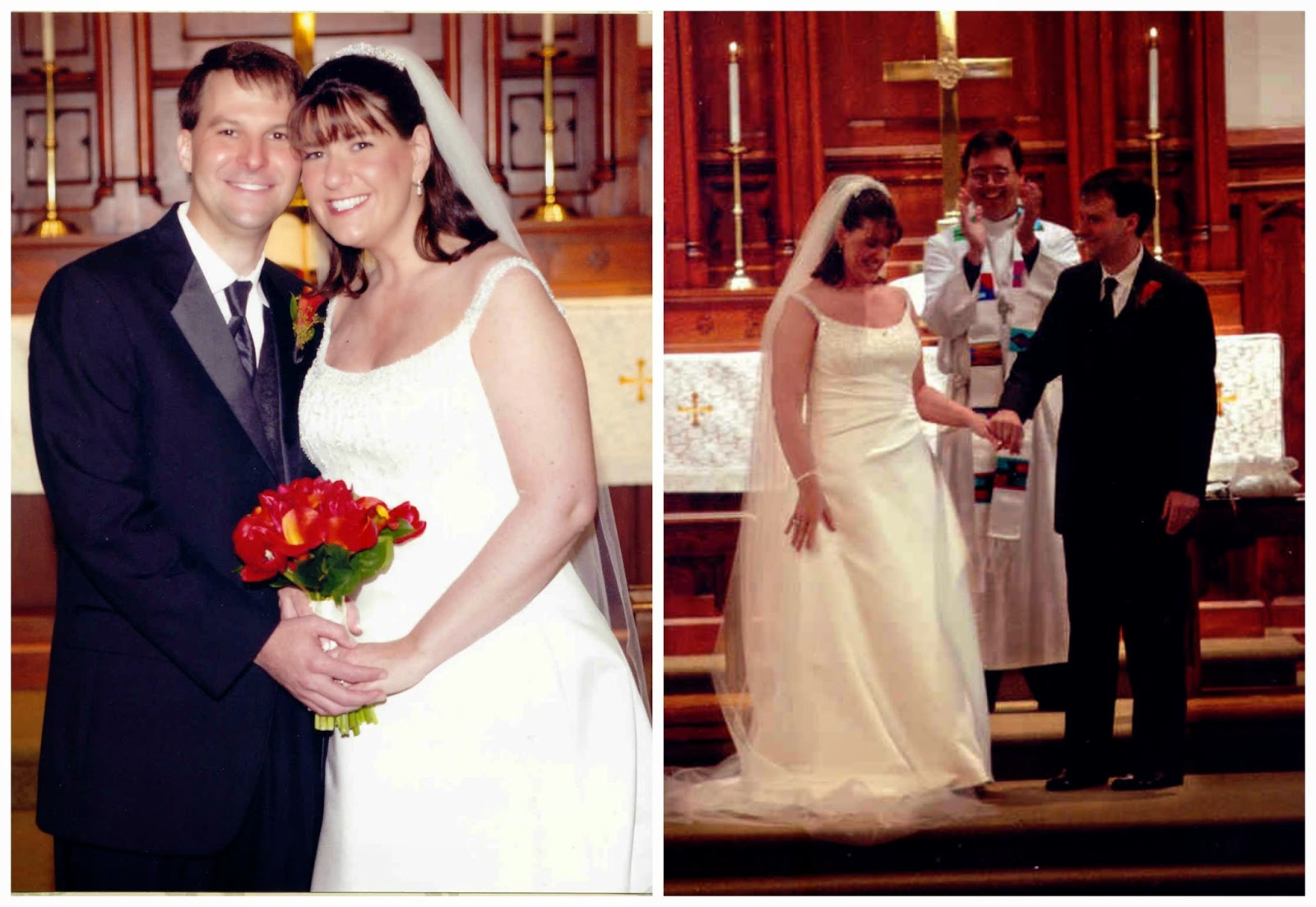 Mark and Tracey Harrelson Wedding Photos