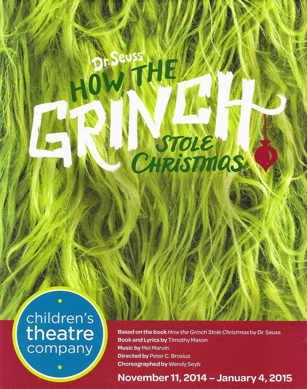 how the grinch stole christmas at childrens theatre company - How The Grinch Stole Christmas 2014
