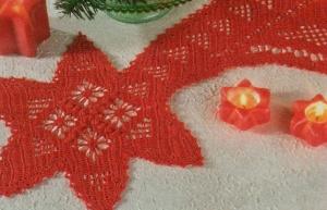 Professione Donna La Cometa Di Natale Realizzata Con Luncinetto