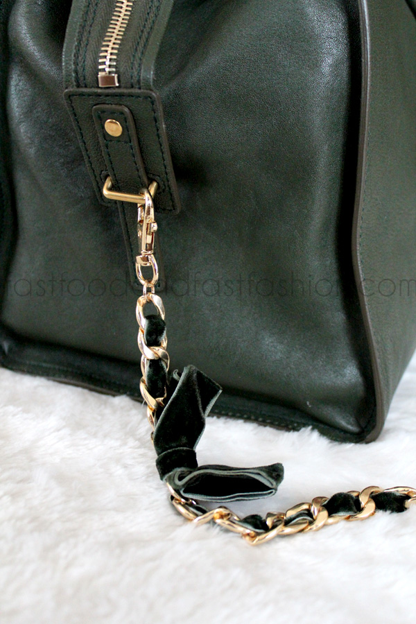 Review: YSL Cabas Chyc Large Leather East West Bag - Fast Food ...
