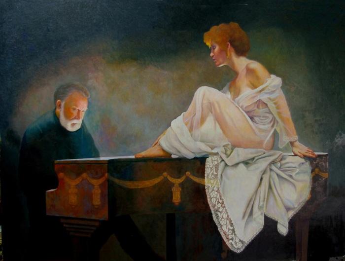 Американский художник. R C Bailey