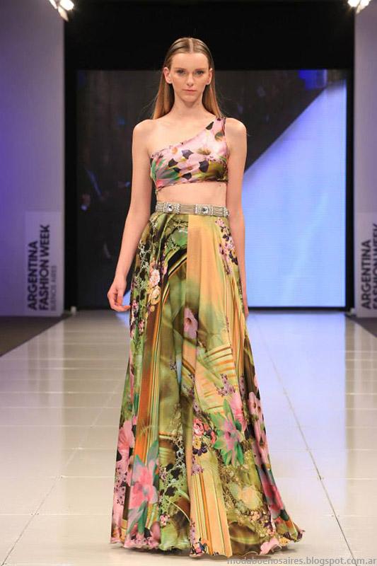 Moda vestidos y faldas de fiesta Benito Fernández 2015.