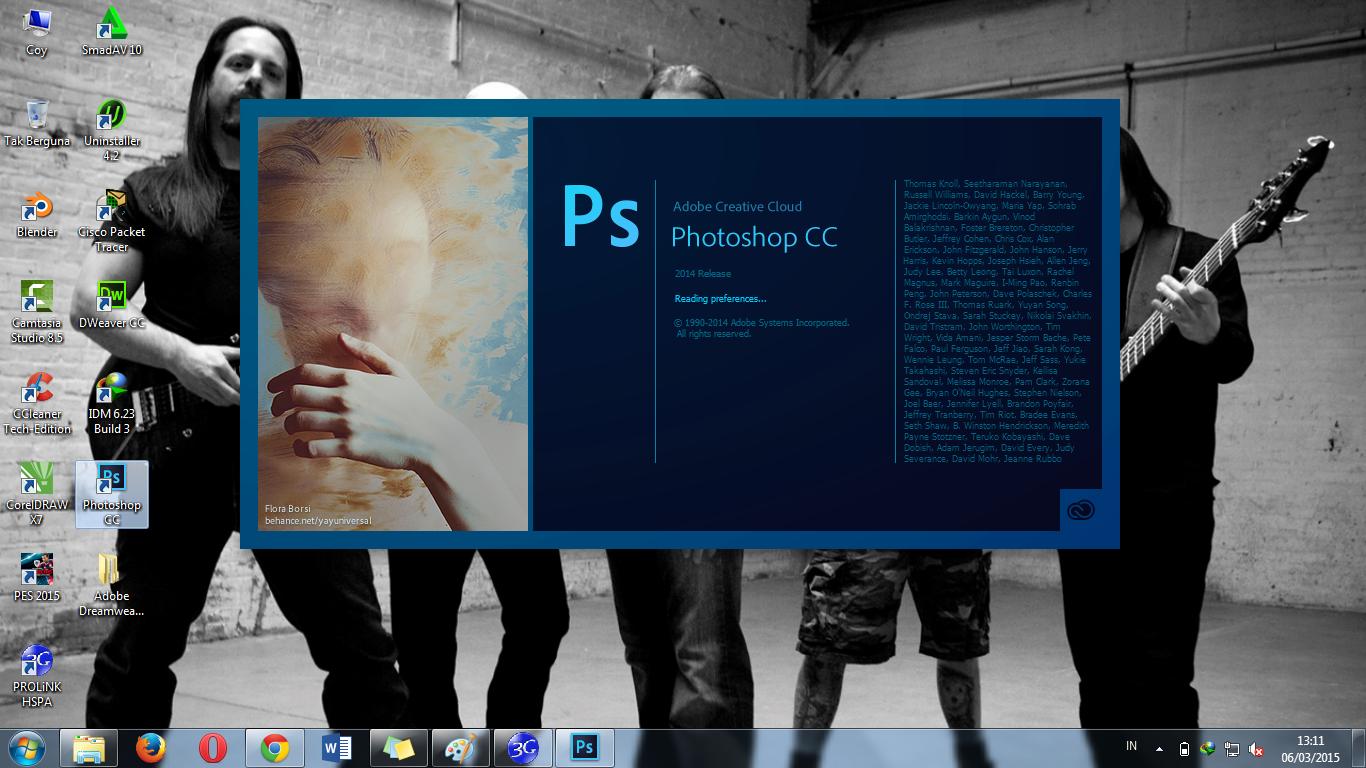 Adobe Photoshop CC 2014 Full Version Free Download Easy Crack