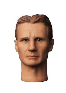 plastic Liam Neeson head
