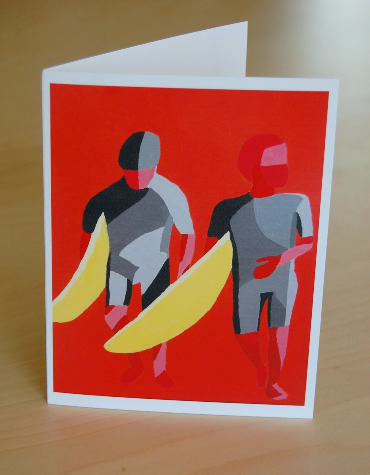 Surfer Note Card