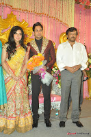 Celebraties at Actor Bharat n Jessy Wedding Reception Photos+%252813%2529 Actor Bharath n Jessy Wedding Photos