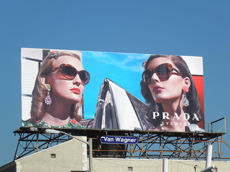 Prada Spring 2012 eyewear billboard