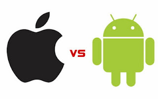 Comparison Applications Android and Applications Apple