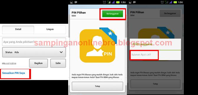 Cara Ganti PIN BBM Untuk Android Sesuai Keinginan