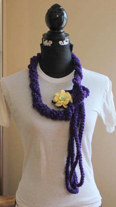 Kari-Lynn's Kumfort Braided necklace