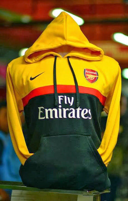 Grosir Jumper Hoodie Arsenal 3d Yellow Red Black - Big Match Jersey - Pin 32826B0C