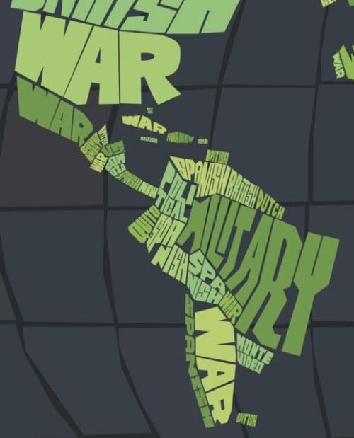 Mapa lacónico de la historia del mundo