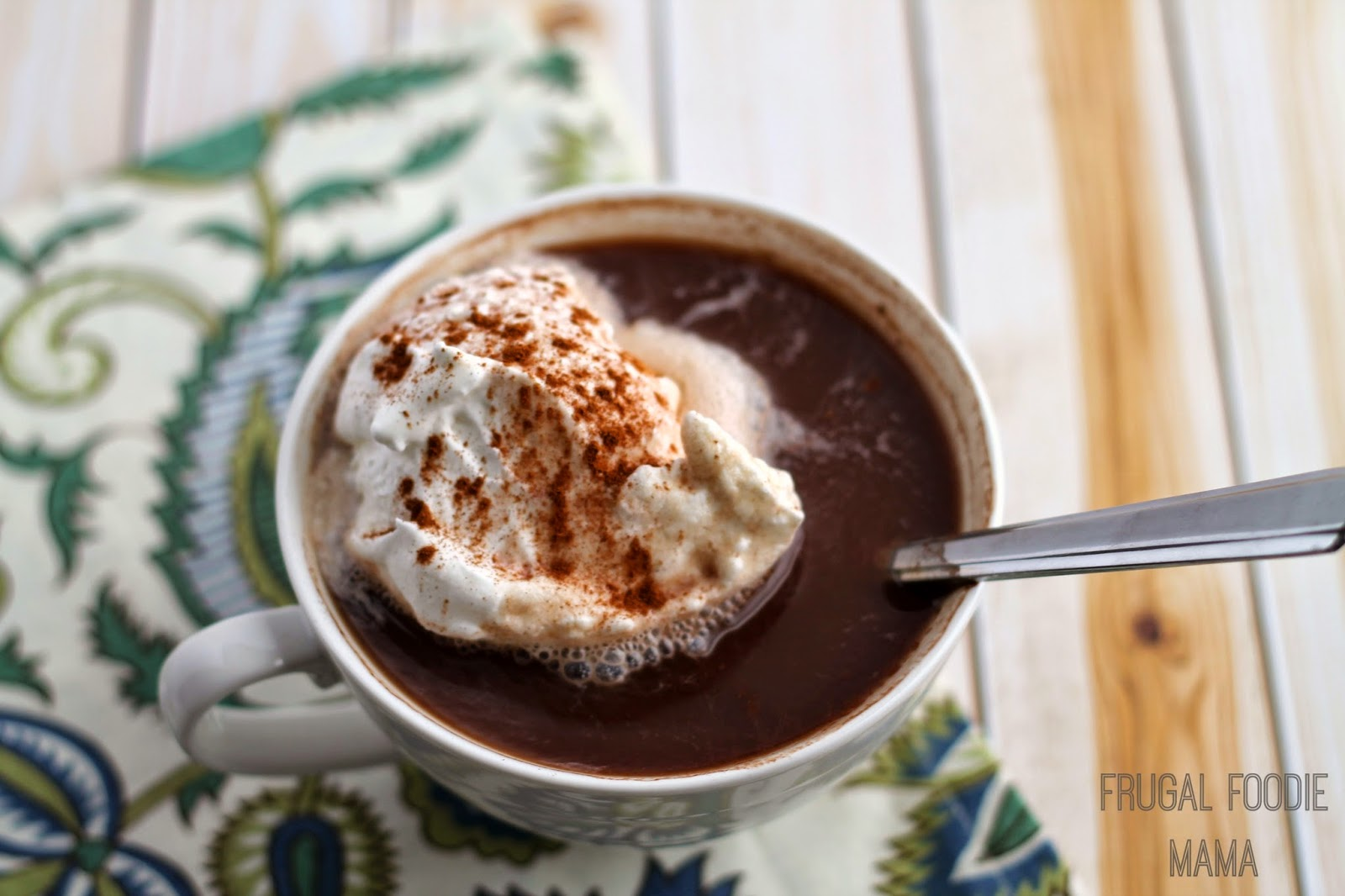 This creamy and comforting Easy Chai Hot Chocolate is ready to sip and enjoy in minutes