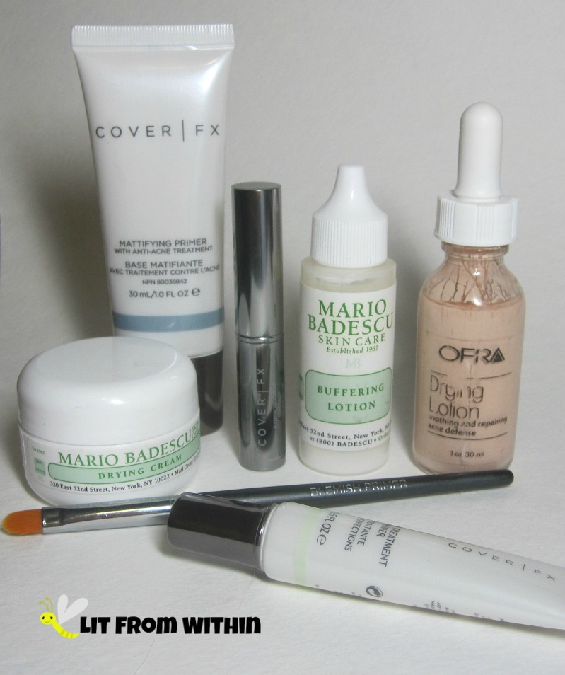 Blemish-fighting makeup faves from Cover FX, OFRA, and Mario Badescu