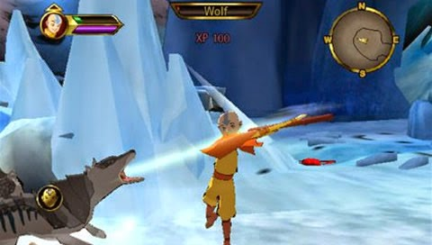 Avatar: The Last Airbender PSP ISO Screenshoot 2