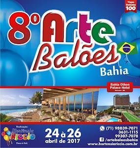 8º ARTE BALÕES BAHIA