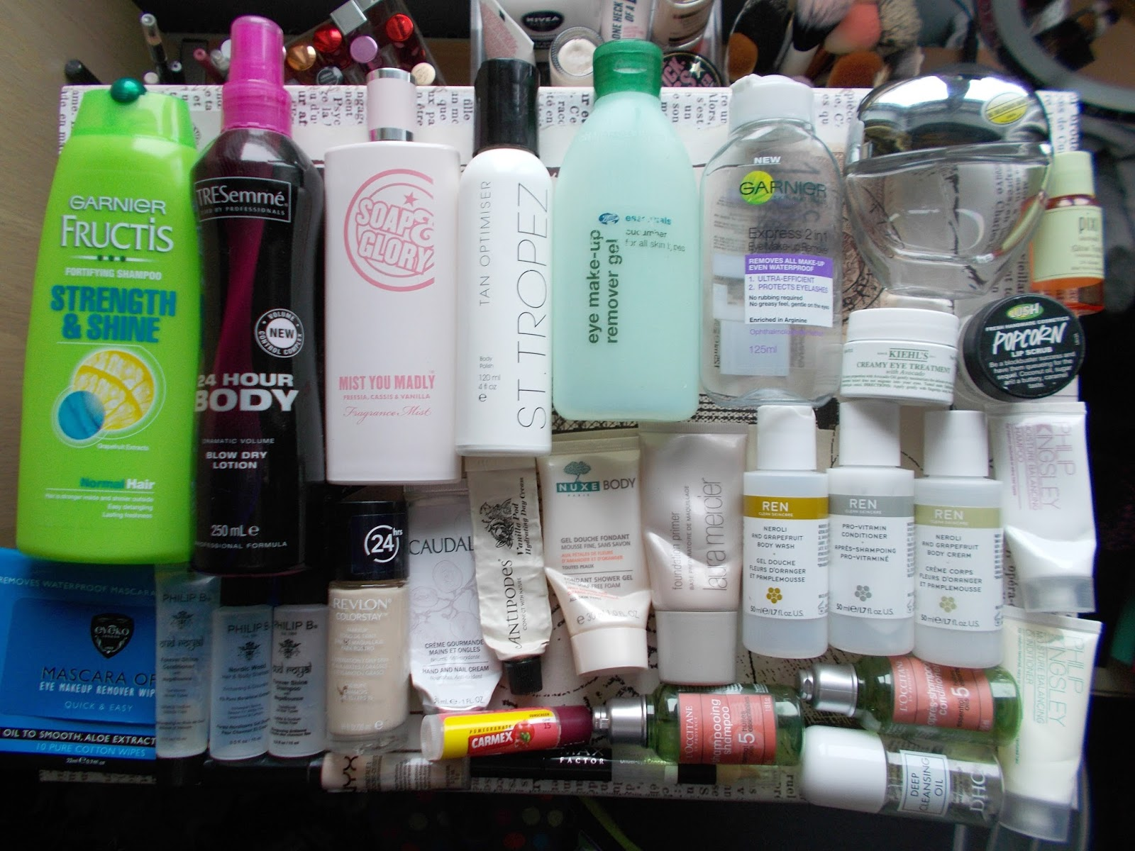 product empties haircare bodycare skincare fragrance makeup reviews