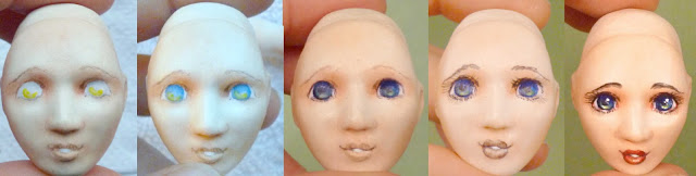 porcelain ball jointed doll free tutorial