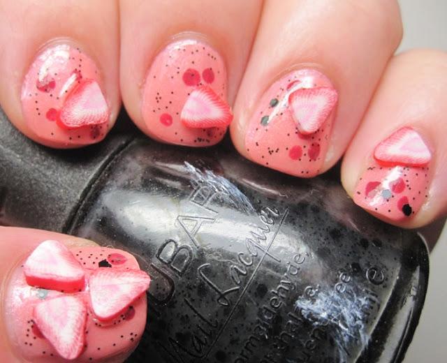 strawberry fimo