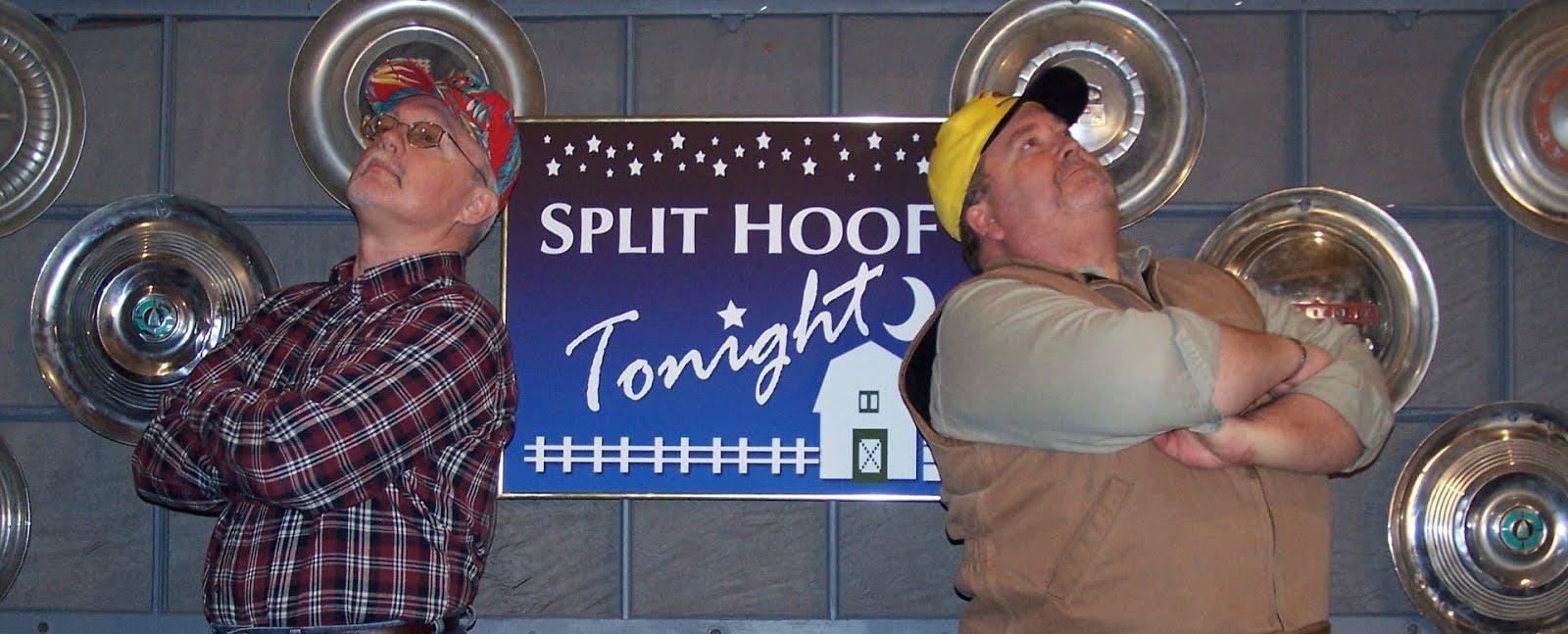 "Hit TV Show ""Split Hoof Tonight"" Now Being Filmed in Cousin John's Cabin!"