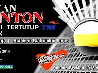 Kejohanan Badminton Beregu Lelaki Tertutup TM 2015 Anjuran Kelab TM Perak