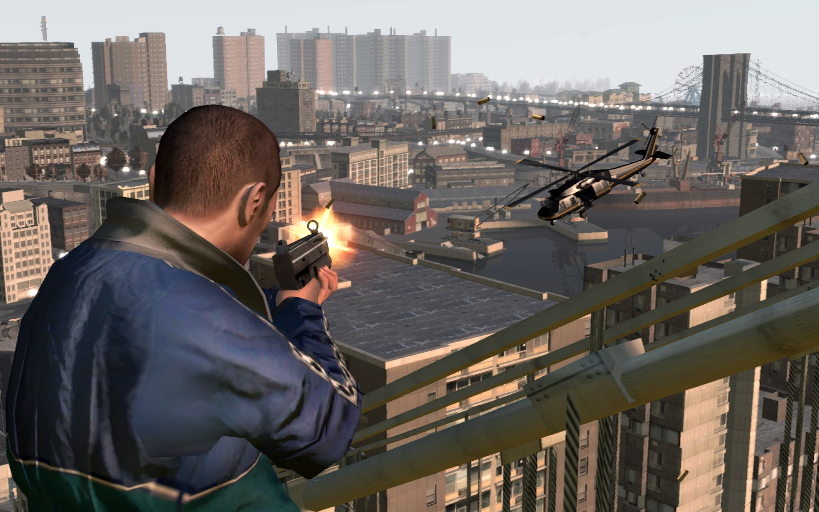 GTA IV Highly Compressed PC Game Free Download (just only 6MB ...