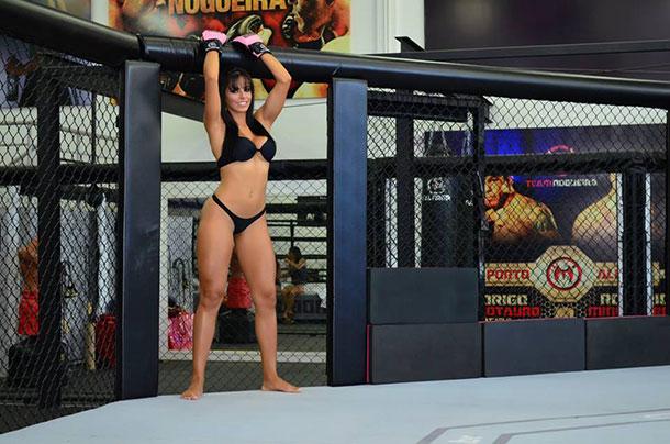 Priscila Colar do MMA