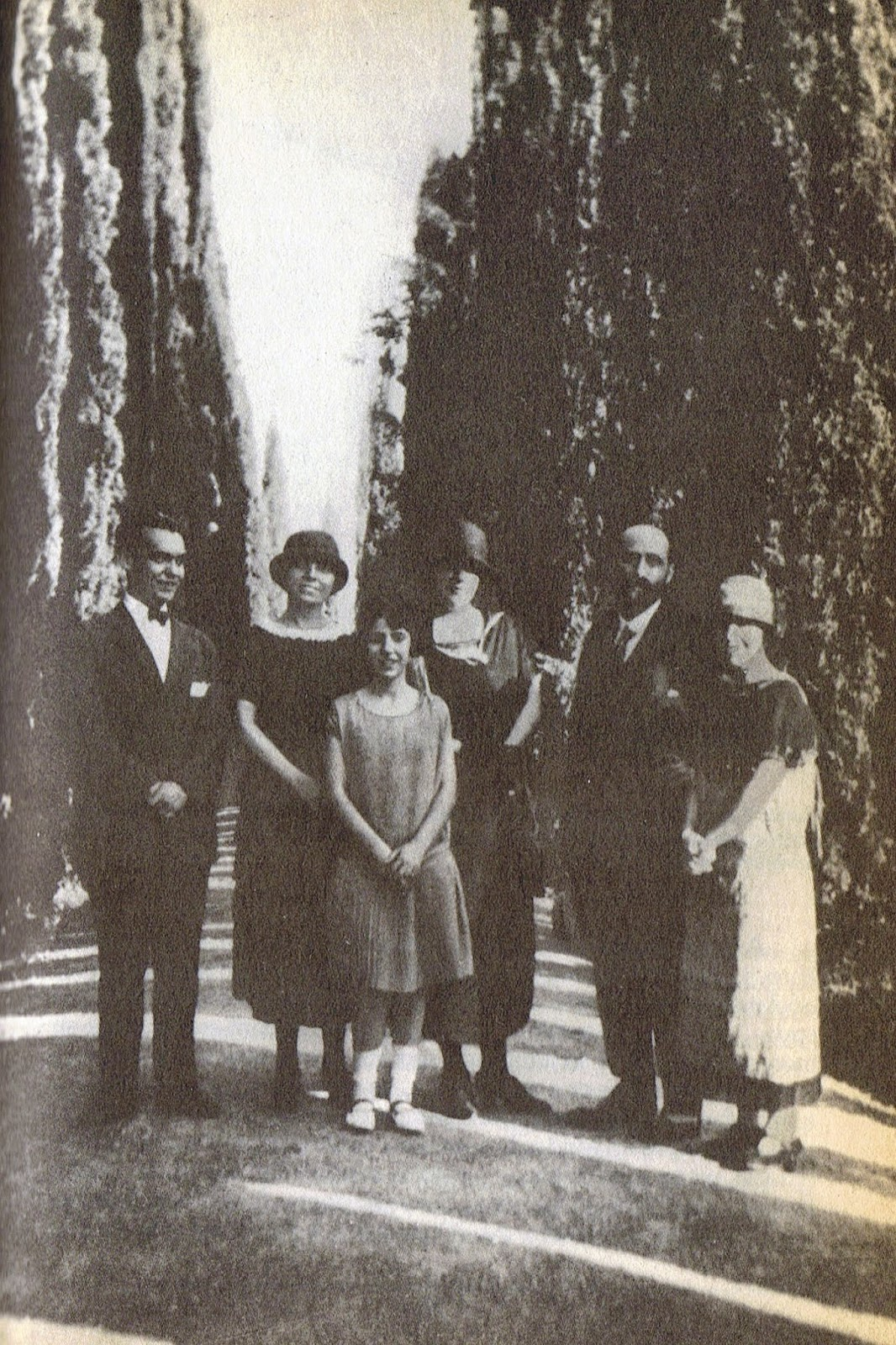 Lorca con Juan Ramón Jiménez