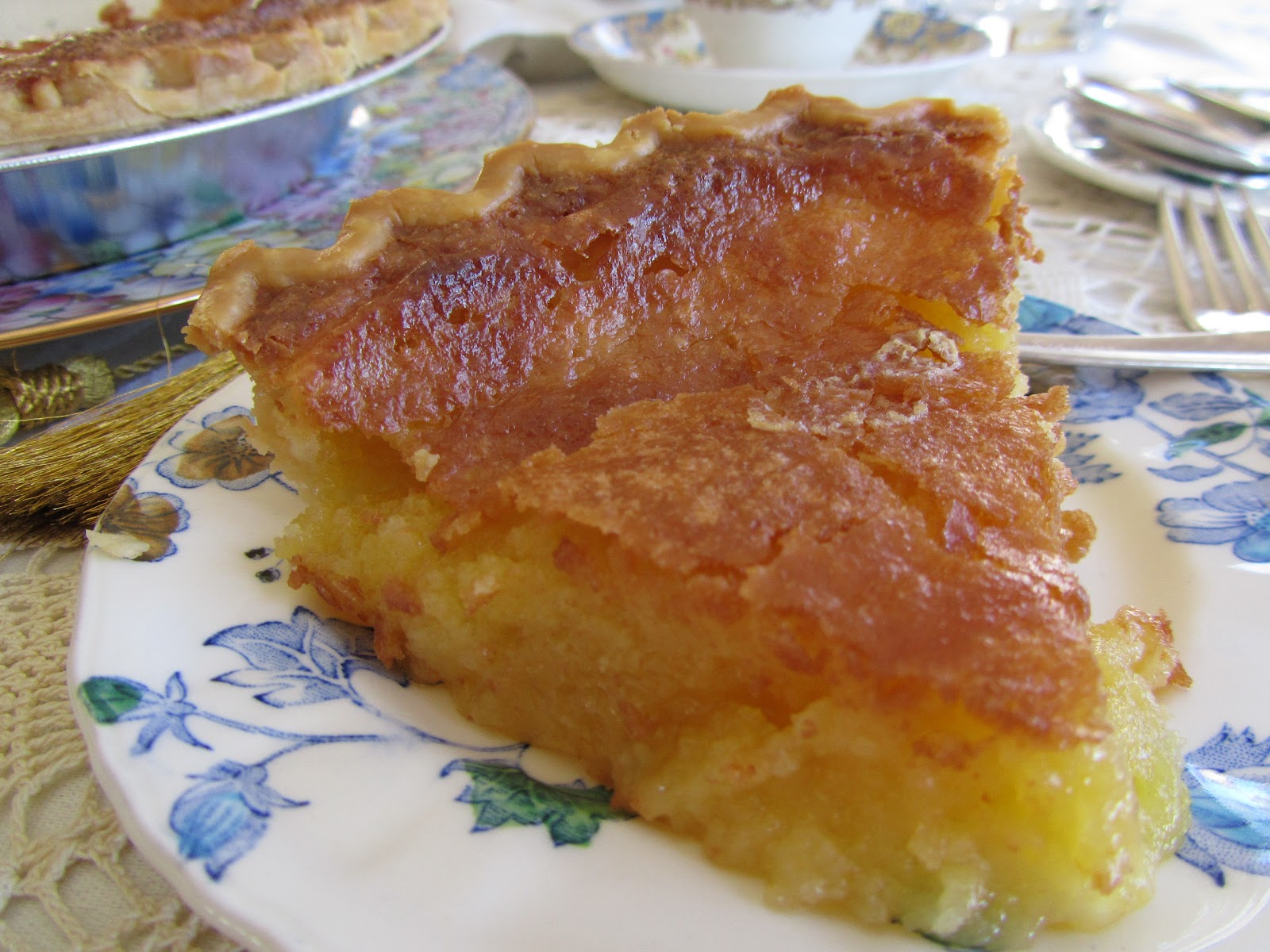 At Home with Rebecka: Furr's Cafeteria Chess Pie...#3