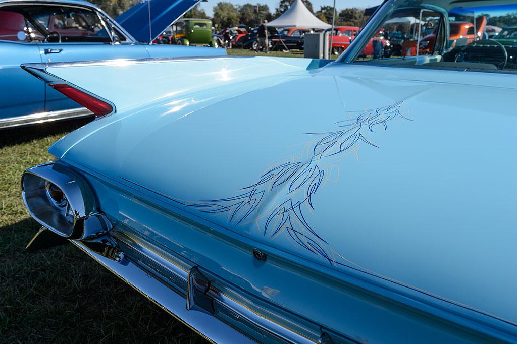 Rear View of Ed Szymansky's 1961 Cadillac Coupe de Ville