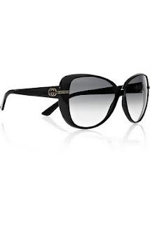 gucci black frame sunglasses
