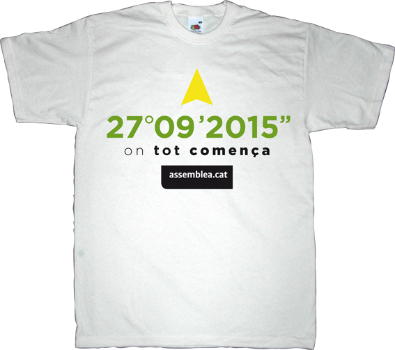 anc assemblea nacional catalana countdown catalonia independence freedom t-shirt ephemeral-t-shirts