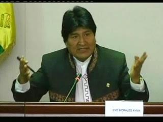 Evo Morales en Roma en el Congreso de Solidaridad, Complementariedad y Determinación de los Pueblos