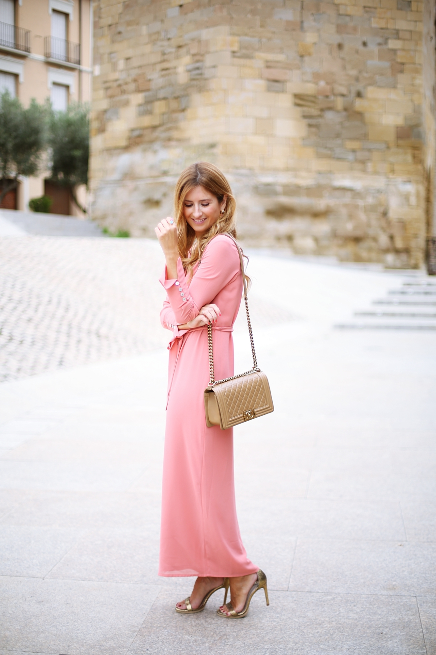 PINK DRESS AND PERFECT MAKE UP   A TRENDY LIFE   Bloglovin\'
