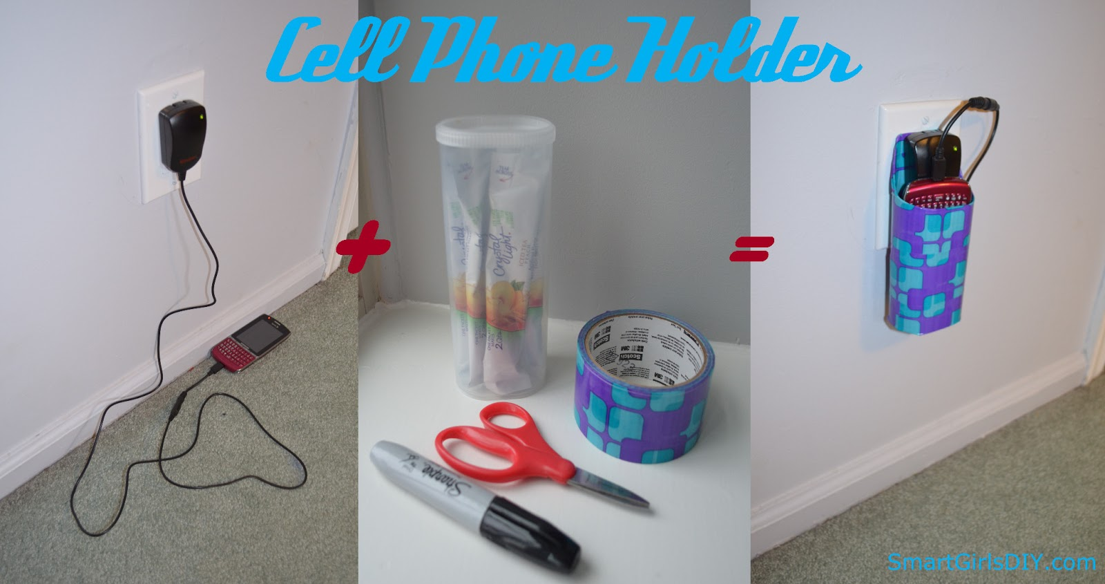how to put a phone in a plastic bottle